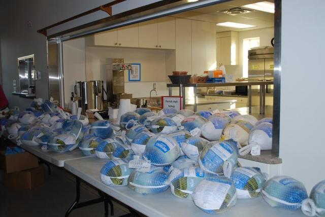 Bringing Thanksgiving to Local Families