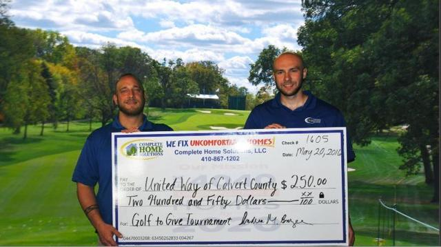 United Way of Calvert County's Annual Golf to Give Tournament...