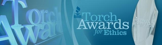 Recipient of the BBB Torch Award for Ethics