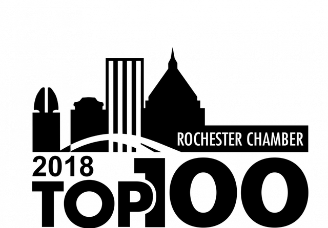 Rochester Top 100 by the Greater Rochester Chamber of Commerce, in partnership with KPMG....
