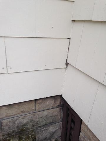 Mineral siding can contain asbestos.