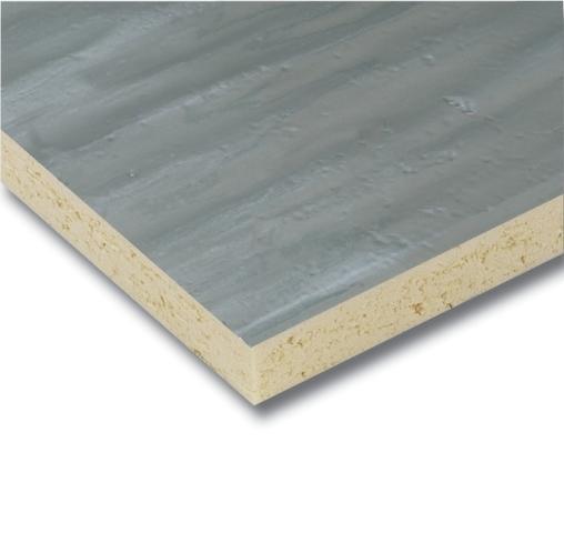 Polyisocyanurate foam board is a