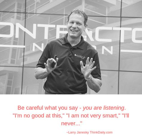 Be careful what you say, YOU ARE LISTENING!