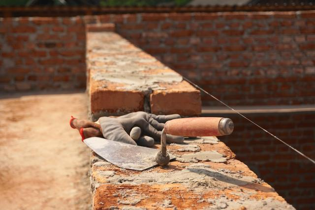 Brick Wall - Trowel