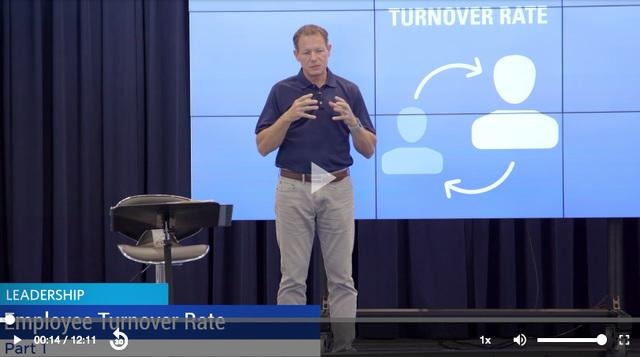 Employee turnover rate video