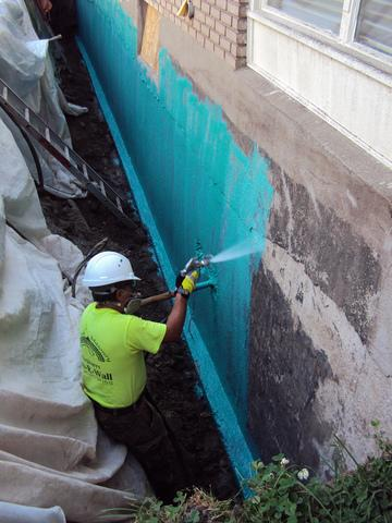 We recently waterproofed a foundation that had water in the homeowners family room. We had received a call from a...