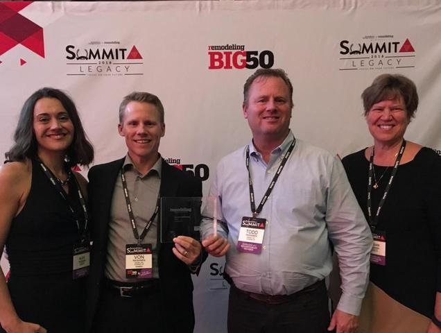 TraVek Recipient of BIG50 Award