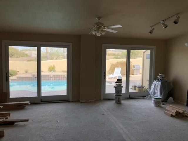 Sun room remodel in Grayhawk, Scottsdale