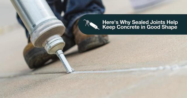 Sealing Your Concrete Joints