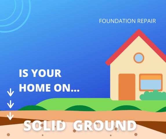 Solid Ground Foundation Repair