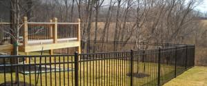 OUR ALUMINUM FENCE IS MADE IN THE USA!