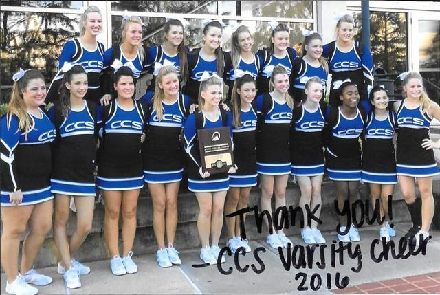 Mallard Roofing and Construction proudly supports local Christian school cheer squad.  Community involvement is important to Mallard Roofing &...