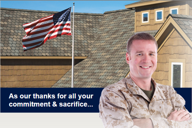 Oklahoma Strong is Proud to Participate in GAF's Roofs for Troops