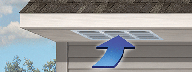 To work most efficiently the attic ventilation system must be balanced between intake and exhaust vents....