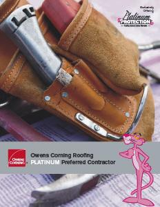 Owens Corning Roofing- PLATINUM Preferred Contractor - Image 3