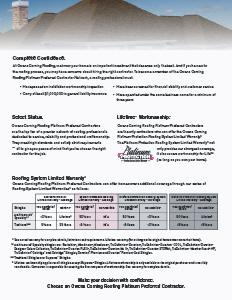 Owens Corning Roofing- PLATINUM Preferred Contractor - Image 1