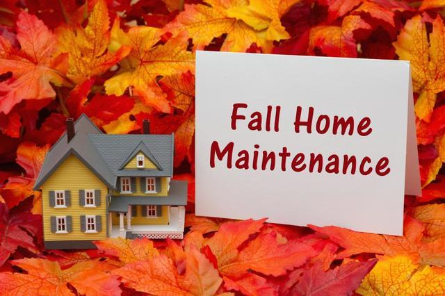 Keep up with your house this time of year!...