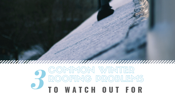 Common winter roof problems can be made much worse by the constant freezing and thawing of winter activity. And while...