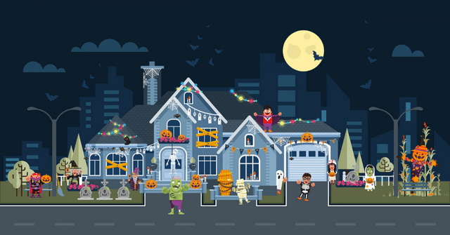 Planning to decorate your roof this Halloween? If so, you need to be careful about how you approach the project....