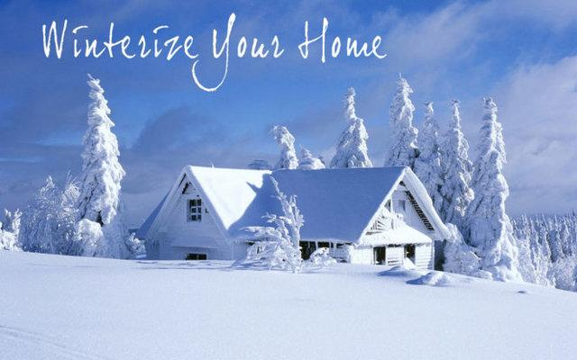 Winterizing the exterior of your home