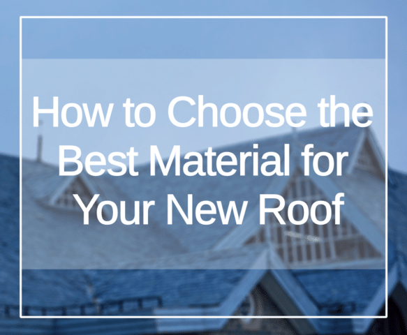 You've realized you need a new roof. So, now what? The next step is choosing a roofing material.