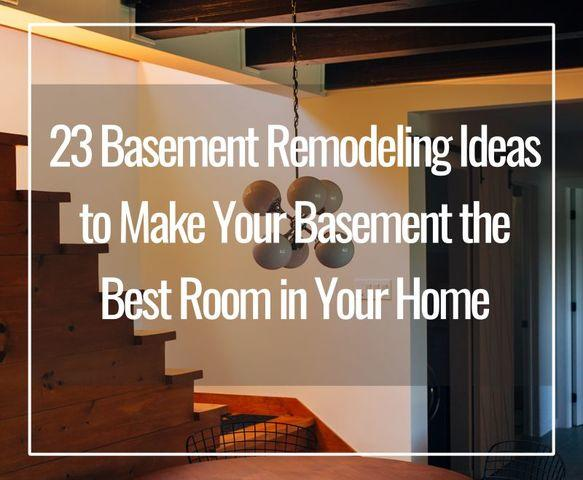 Are you considering finishing your basement?