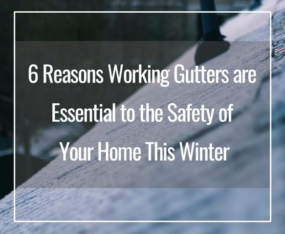Did you clean your gutters before winter this year? Did you remove the leaves and other debris that can clog...
