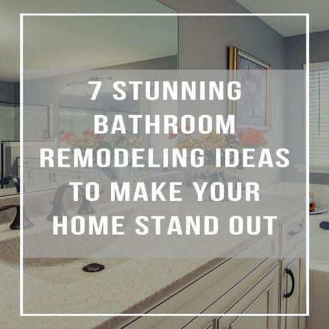Is your bathroom dated, dingy, or just in need of a refresh? Bathroom remodeling is a great way to fix...