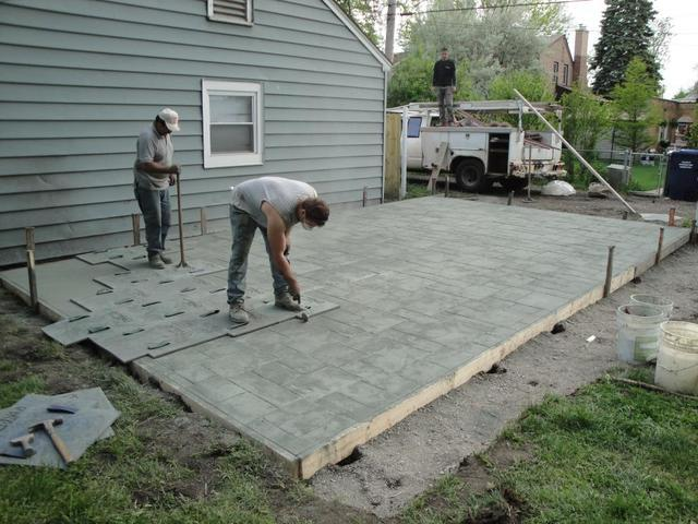 Stamped Concrete for Patios Driveways and More - Image 2