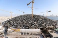 7,716-ton domed roof of Louvre Abu Dhabi to give