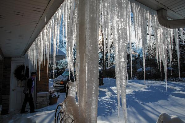Ice that builds up on the roofs of homes from melting snow can cause damming that can damage gutters and...