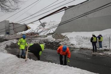 Massachusetts sees hundreds of roof collapses