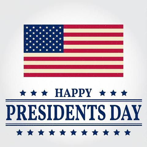 Today we salute our country and the many great men to hold the office of President of the United States!
