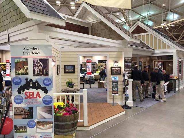 Visit Sela Gutter Connection at the 2019 Home & Garden Show