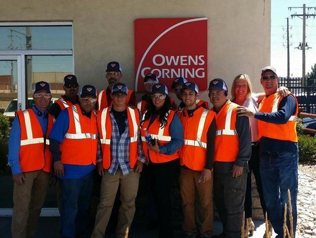 Wimmer's Team Tours Owens Corning Plant in Denver, CO  Part II