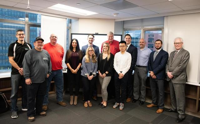 Total Basement Finishing Participates in Duquesne University School of Business Project - Image 2
