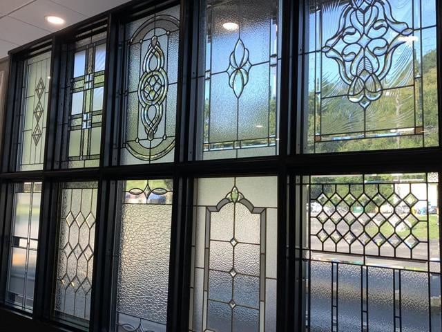 We Are the Only Showroom With All 21 ProVia Entry Door Glass Designs on Dis...