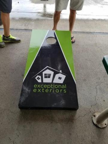 Our Exceptional corn-hole game