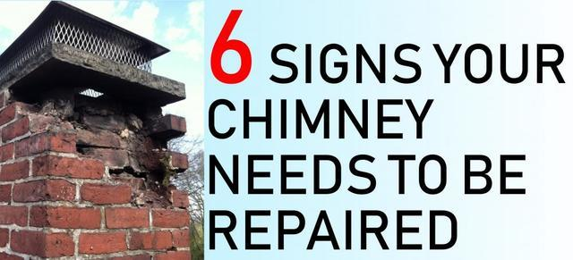 6 Signs Your Chimney Needs To Be Repaired