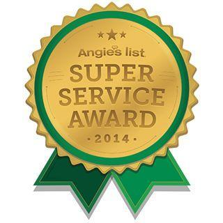 GF Sprague Earns Esteemed 2014 Angie's List Super Service Award