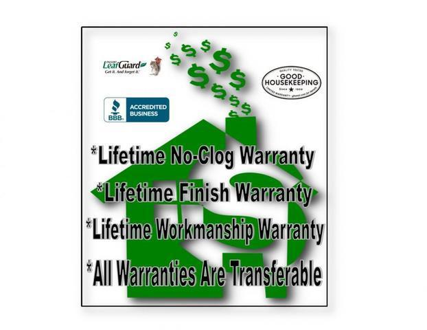 LeafGuard Gutter Warranties