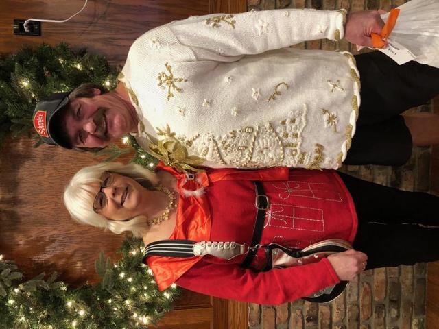 Tom & Rhonda at the Holiday Party