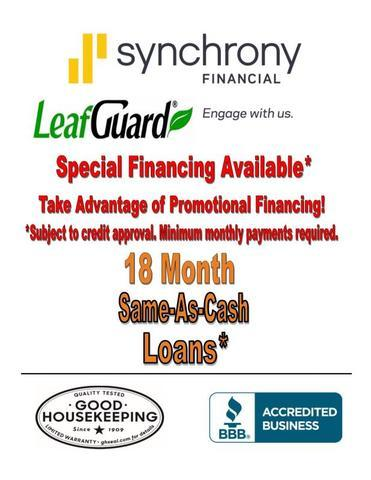 18 Month Same-As-Cash Loans Available!