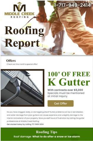 Roofing Report Newsletter - February 2019