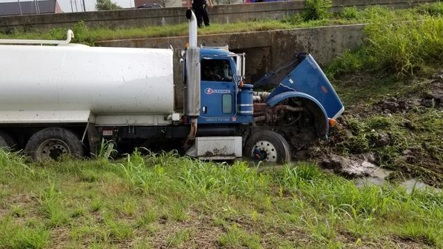 A Busy Day At The Office Today! (Tanker Truck Collision) - Image 3