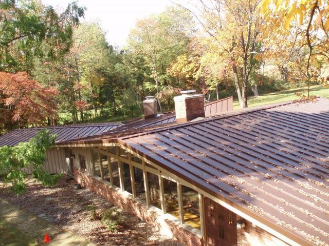Low Sloping Metal Roof Annandale NJ
