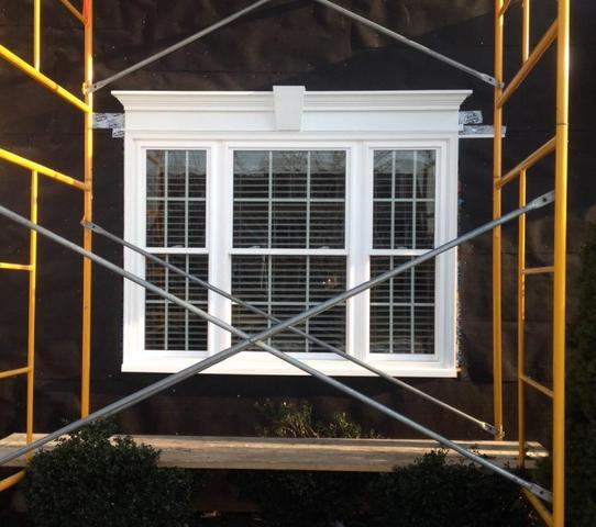 New Construction Window Install on Stucco Home in Doylestown PA