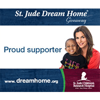 Jewell Roofing is a proud sponsor of the 2009, 2010 and 2011 St. Jude Home Giveaway....