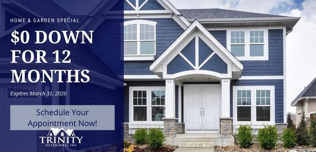 Trinity Exteriors in Eden Prairie Special for roofing, windows and siding