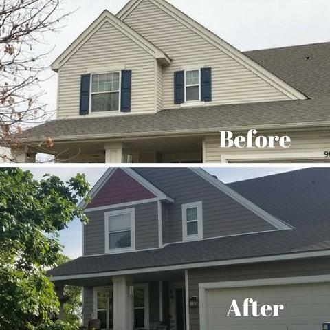 Before and After Inver Grove Heights Home